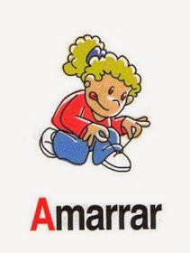 Vocabulario En Imagenes Maestra De Infantil Y Primaria Acciones En Imagenes Verbos Dibujos Verbos Para Ninos Verbos En Espanol Verbos
