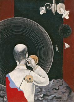Max Ernst Untitled (Dada) ca. Oil on canvas. x Museo Thyssen-Bornemisza Madrid Max Ernst, Dada Artists, Hans Thoma, Dada Movement, Hans Richter, Hans Arp, Statues, Francis Picabia, Magritte