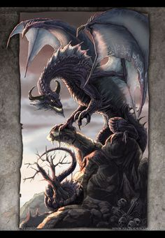 The Twilight Dragon by *drakhenliche on deviantART