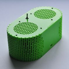 Laser cut acrylic bluetooth speaker. Dougie Scott