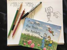 The Ants, the Bees, the Spiders with Knees', children's book about bugs preparing for spring. My first children's book.