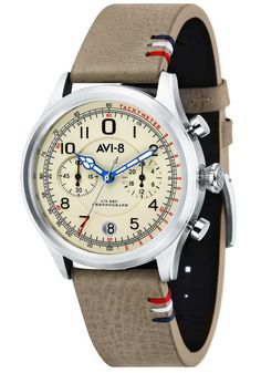 AVI-8 Flyboy Lafayette AV-4054-01 Beige is now available at Watches.com. Free Worldwide Shipping* and Easy Returns. Shop Now