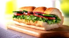 Veggie Delite with all freshly prepared vegetables.Crispy, crunchy and classically delicious. The Veggie Delite® is tangible proof that a sandwich can be high in flavor without being high in fat. Try a delicious combination of lettuce, tomatoes, green peppers, cucumbers and onions with your choice of fat-free condiments on freshly baked bread.Total of 230 calories.