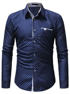 xiaohuoban Mens Lapel Plus-Size Shirt Button Leisure Short Sleeve Printed Dress Shirt