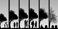 Time lapse: the seasons of love & life.