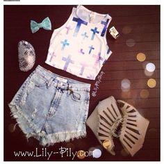Cute cross shirt