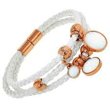 white diy bracelet