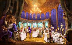Be Our Guest Restaurant at Magic Kingdom Park. Jennifer is an Authorized Disney Travel Agent with Destinations in Florida www.destinationsinflorida.com/jennifergreene