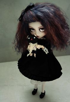 Cute Dark themed Pullip with