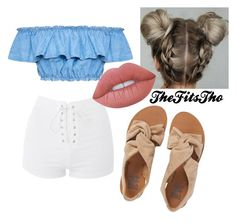 """""""Untitled #52"""" by thefitstho on Polyvore featuring Billabong, Topshop and Lime Crime"""