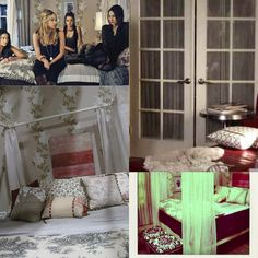 The lovely side hanna s room pretty little liars decor - Spencer S Room From Pretty Little Liars
