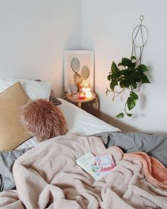 this is honestly my dream space simple bright feminine lots of