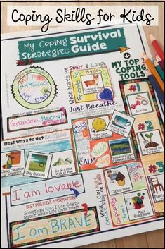 Coping skills and self regulation for kids. Counseling Activities, Therapy Activities, Time Activities, Therapy Ideas, Art Therapy, Social Emotional Learning, Social Skills, Kids Coping Skills, School Social Work