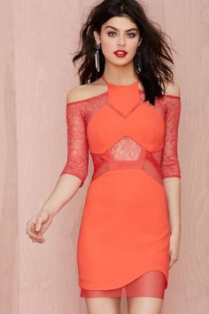 Three Floor Vixen Lace Dress