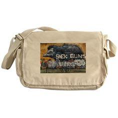 ROA TAGGED UPON Messenger Bag on CafePress.com