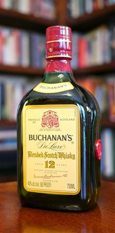 The Buchanan's 12 Year Old Blended Scotch Whisky (750 ml De Luxe™bottle) Shop Scotch Whisky | ForWhiskeyLovers.com