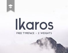 Ikaros free font for personal and commercial use