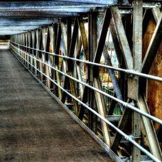 A Bridge within a bridge at the Old victoria bridge