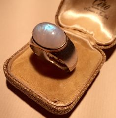 A personal favourite from my Etsy shop https://www.etsy.com/listing/233606073/vintage-silver-moonstone-ringlovely
