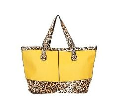 tote bag with leopard print $9.95