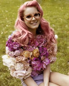Like I said… I wish I could wear flowers.