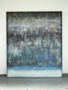 "Saatchi Art Artist Christian Hetzel; Painting, ""diffused blue"" #art"