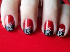 Corset nails - 2ª Gincana Nails Ink - Carimbo ou Nail Art by excel-chan, via Flickr