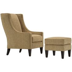 Connor Chair and Ottoman - LZ220