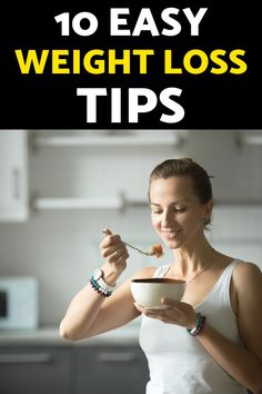 Here are 10 simple weight loss tips that will help you with your weightloss journey. Get ready for weight loss without hunger. #weightlosstips #easyweightloss #howtoloseweightfast