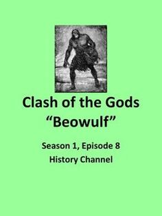 The History Channel's Clash of God's series includes a comprehensive and worthwhile account of the background of the epic, Beowulf. The one-hour video will provide your students supportive context and some fascinating information on recent excavations tha World Literature, American Literature, Teacher Lesson Plans, Teacher Resources, Help Teaching, Teaching Ideas, English Language, Language Arts, Ap English