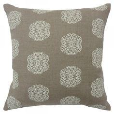 Iron Flowers - Linen Cushions - hardtofind.