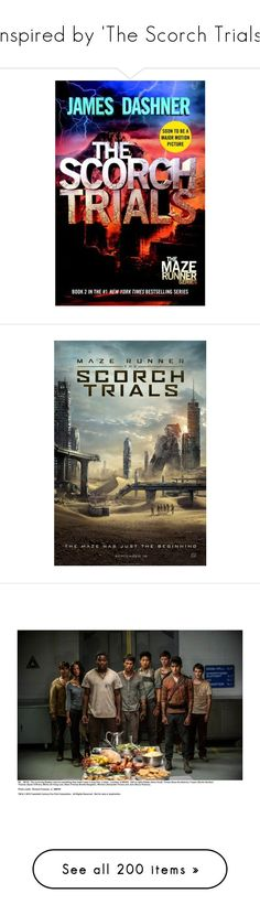 """""""Inspired by 'The Scorch Trials'"""" by fandomimagineshere ❤ liked on Polyvore featuring books, the maze runner, maze runner, shoes, boots, botas, zapatos, rick owens, rick owens boots and rick owens shoes"""
