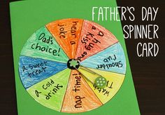 Father's Day Spinner Card *love it