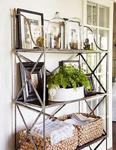 Beautiful tour of a cottage home; some great decorating ideas