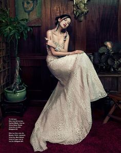Kiki Kang by An Le for Harper's Bazaar Vietnam December 2012. #fashion #photography