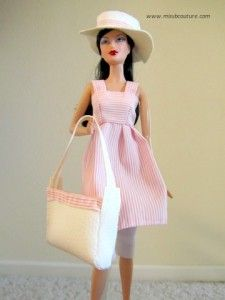 Tutorial Pink Tunic for Barbie - I just love this one! :)