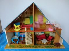 Vintage Okwa dolls house  1:16