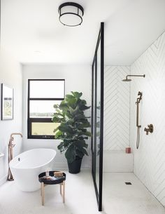 Home Decor Apartment b a t h r o o m shower and bath w/ white herringbone wall tiles and decorations.Home Decor Apartment b a t h r o o m shower and bath w/ white herringbone wall tiles and decorations. Minimal Bathroom, Small Bathroom, Bathroom Ideas, Bathroom Organization, Bathroom Mirrors, Bathroom Inspo, Bathroom Cabinets, Bathroom Designs, Bathroom Storage
