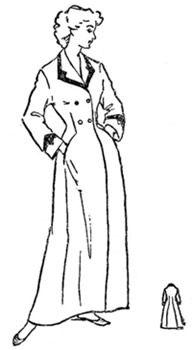 Выкройка домашнего длинного зимнего женского халата