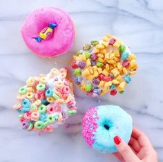 All the donuts | thecraftedlife