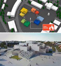 LEGO House: Experience Center Made of Interlocking Blocks | Urbanist