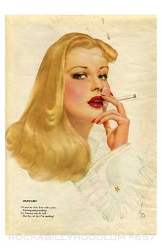 Pin Up Girl Poster 11x17 Vargas Blonde Black Lingerie Retro Beauty