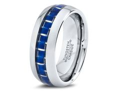 Mens Tungsten Carbide Wedding Band Ring 8mm 515 by GiftFlavors, $70.44