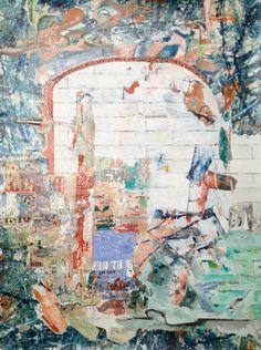 Claudio Spanti - L'arche - Acrylique sur toile - cm 93x69 - 2012