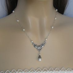 Victorian-inspired necklace