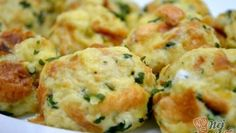 Zapečená cuketa s mozzarelou – RECETIMA Slovak Recipes, Dumplings, Food Videos, Ham, Side Dishes, Food And Drink, Vegetarian, Menu, Healthy Recipes