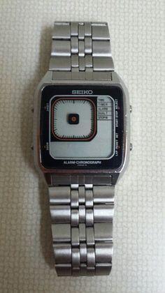 Vintage SEIKO James Bond mens watch G757-405A Digital Retro NOT WORKING #Seiko