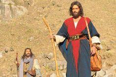 Guilherme Winter interpreta Moisés na novela bíblica -  Foto: Record/Divulgação (Foto: Record/Divulgação)