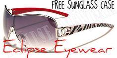 DG Sunglasses Animal Print Zebra Stripes Classy Sophisicated Womens Ladies AU