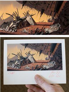 Artes de Sym-Bionic Titan e Clone Wars, por Scott Wills   THECAB - The Concept Art Blog